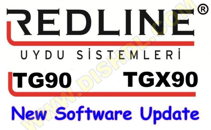 REDLINE TG90 NEW RECEIVER SOFTWARE UPDATE