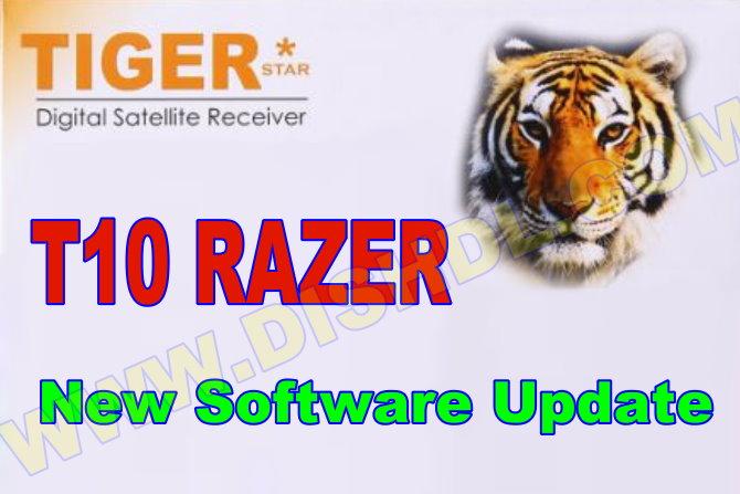 TIGER T10 RAZER NEW SOFTWARE UPDATE