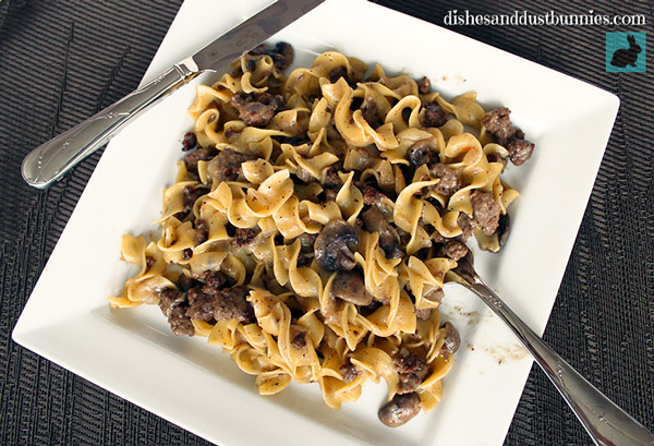 Homestyle Beef Stroganoff from Scratch