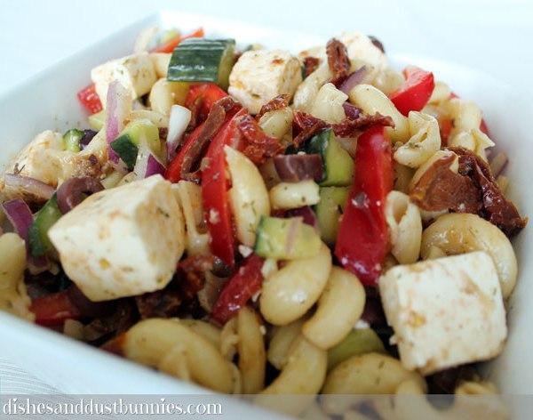 Sun Dried Tomato & Feta Pasta Salad