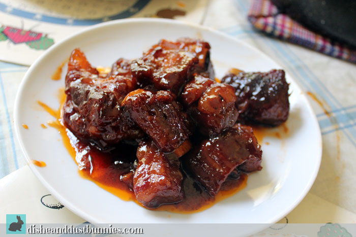 Sweet & Sour Short Ribs