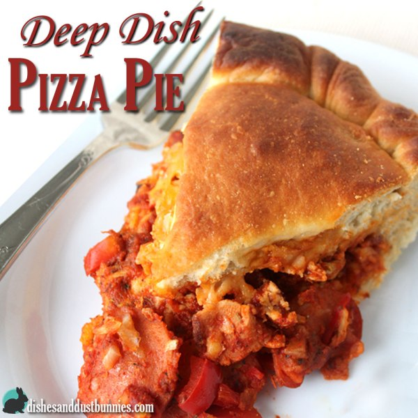 Deep Dish Pizza Pie