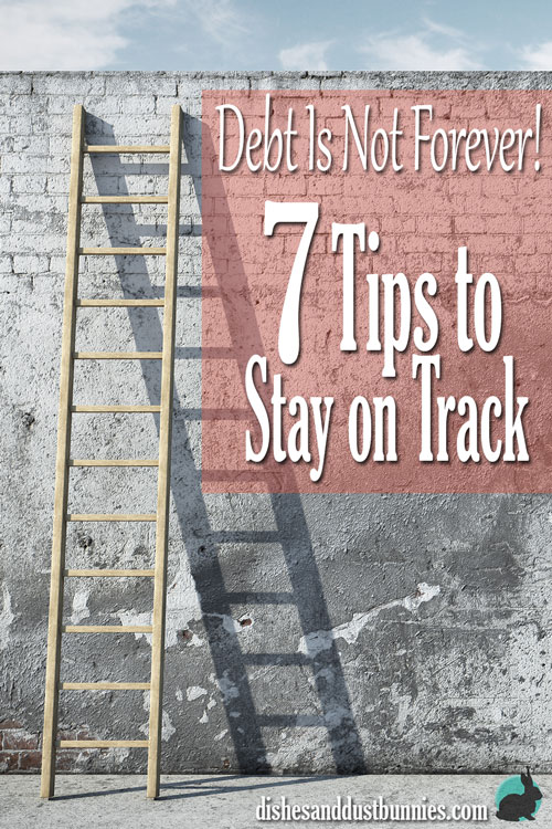 Debt Is Not Forever! 7 Tips to Stay on Track