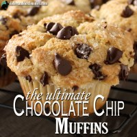 The Ultimate Bakery Style Chocolate Chip Muffins