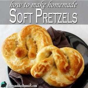How to make Homemade Soft Pretzels