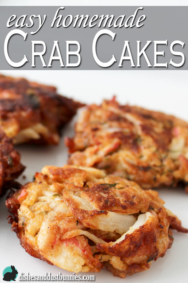 Easy Homemade Crab Cakes