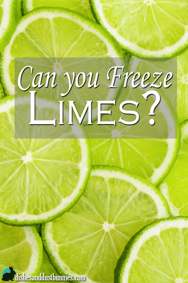 Can you Freeze Limes?