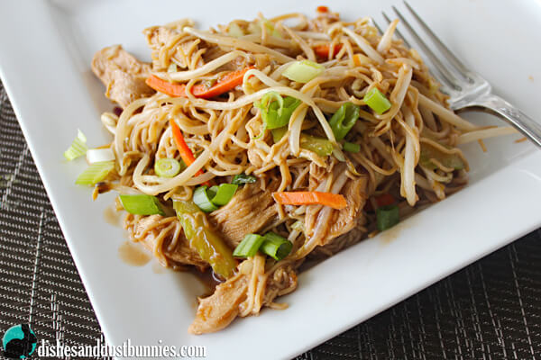 how to make chicken chow mein easy