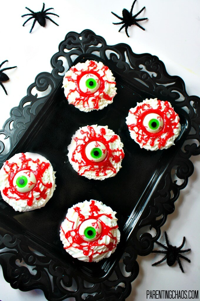 Blarg Eye Cupcakes from Parenting Chaos