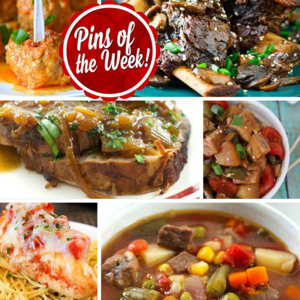 Delicious Slow Cooker Recipes – Pins of the Week!