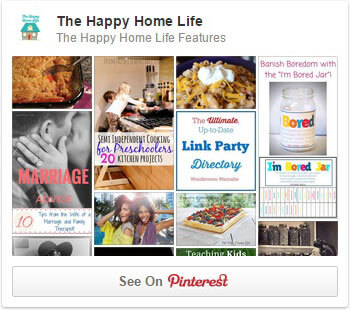 Please follow Happy Home Life on Pinterest!