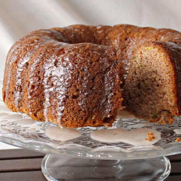 Spiced Zucchini Bundt Cake