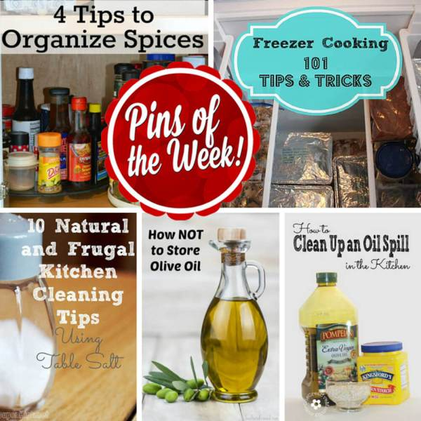 Kitchen Tips you Can't live Without! – Pins of the Week