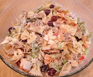 Chicken Pasta Salad from Wondermom Wannabe