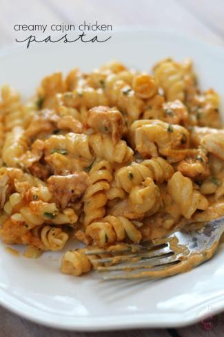 Creamy Cajun Chicken Pasta Recipe from Thrifty diy diva