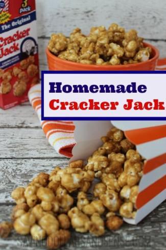 Homemade Cracker Jack Recipe from Saving Dollars & Sense