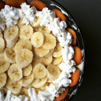 No Bake Banana Cream Pie from Dining with Alice