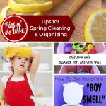 Tips for Spring Cleaning and Organizing – Pins of the Week!