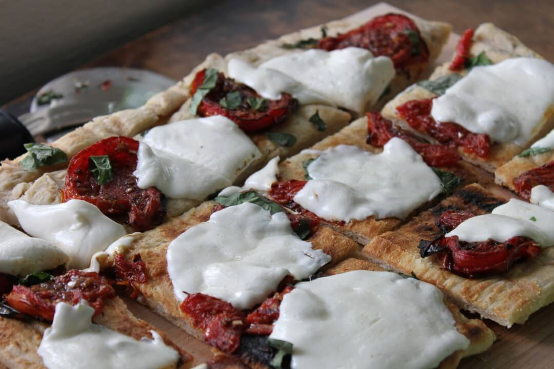 How To: Grill Pizza from Brittany's Pantry