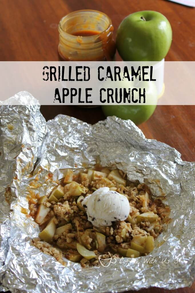 Grilled Caramel Apple Crunch from Coffee With Us 3