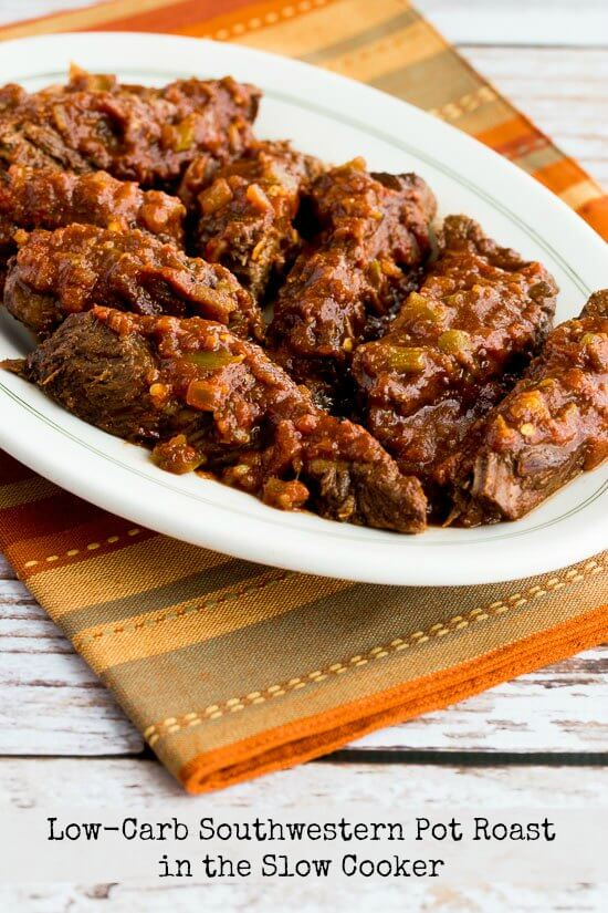 Low-Carb Southwestern Pot Roast in the Slow Cooker from Kalyn's Kitchen