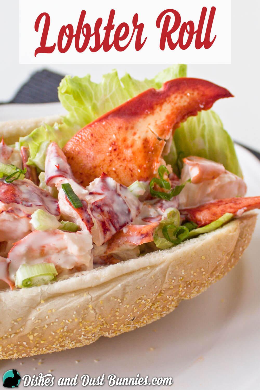 Lobster Roll from dishesanddustbunnies.com