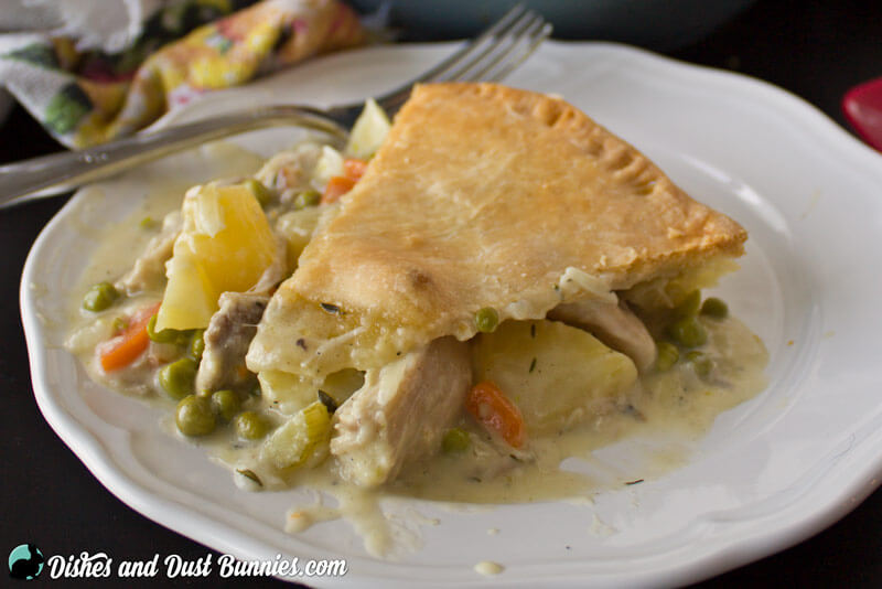 The Best Old Fashioned Chicken Pot Pie Ever! - Dishes and ...