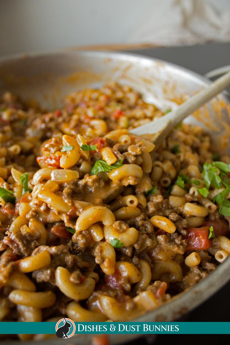 Cheeseburger Macaroni - Homemade Hamburger Helper Copycat Recipe