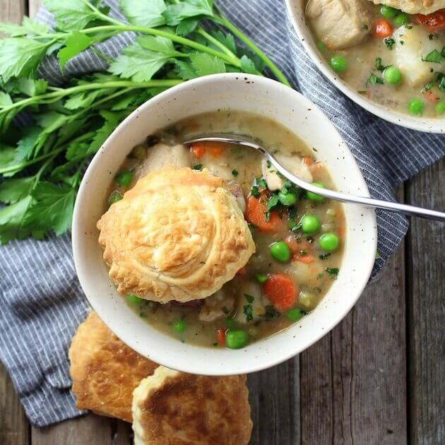 Chicken Pot Pie Soup from Taste and See