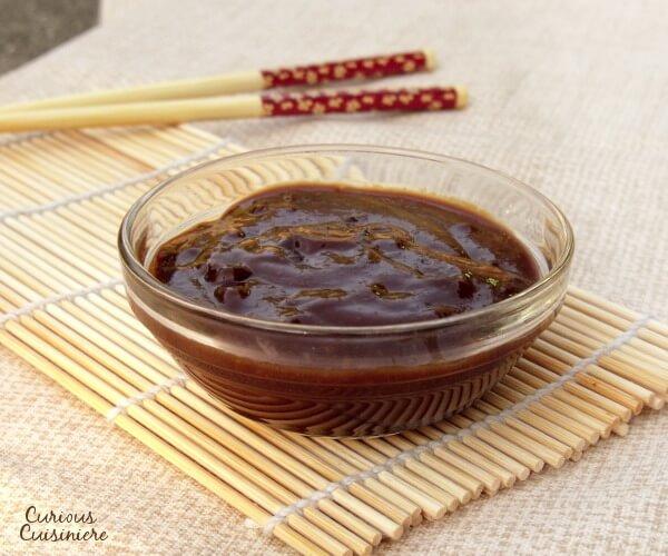 Hoisin Sauce from Curious Cuisiniere