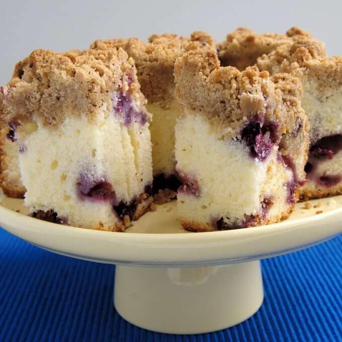 Blueberry Crumb Cake from Baking Sense