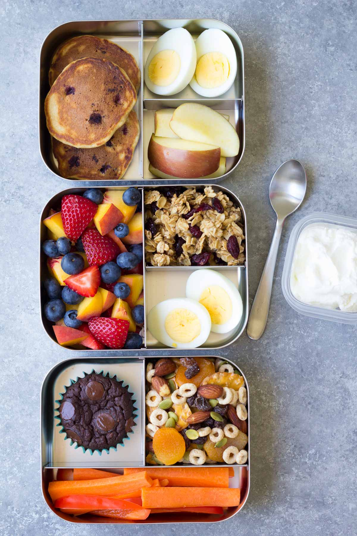 10 More Healthy Lunch Ideas for Kids (for the School Lunch Box or Home) from Kristine's Kitchen