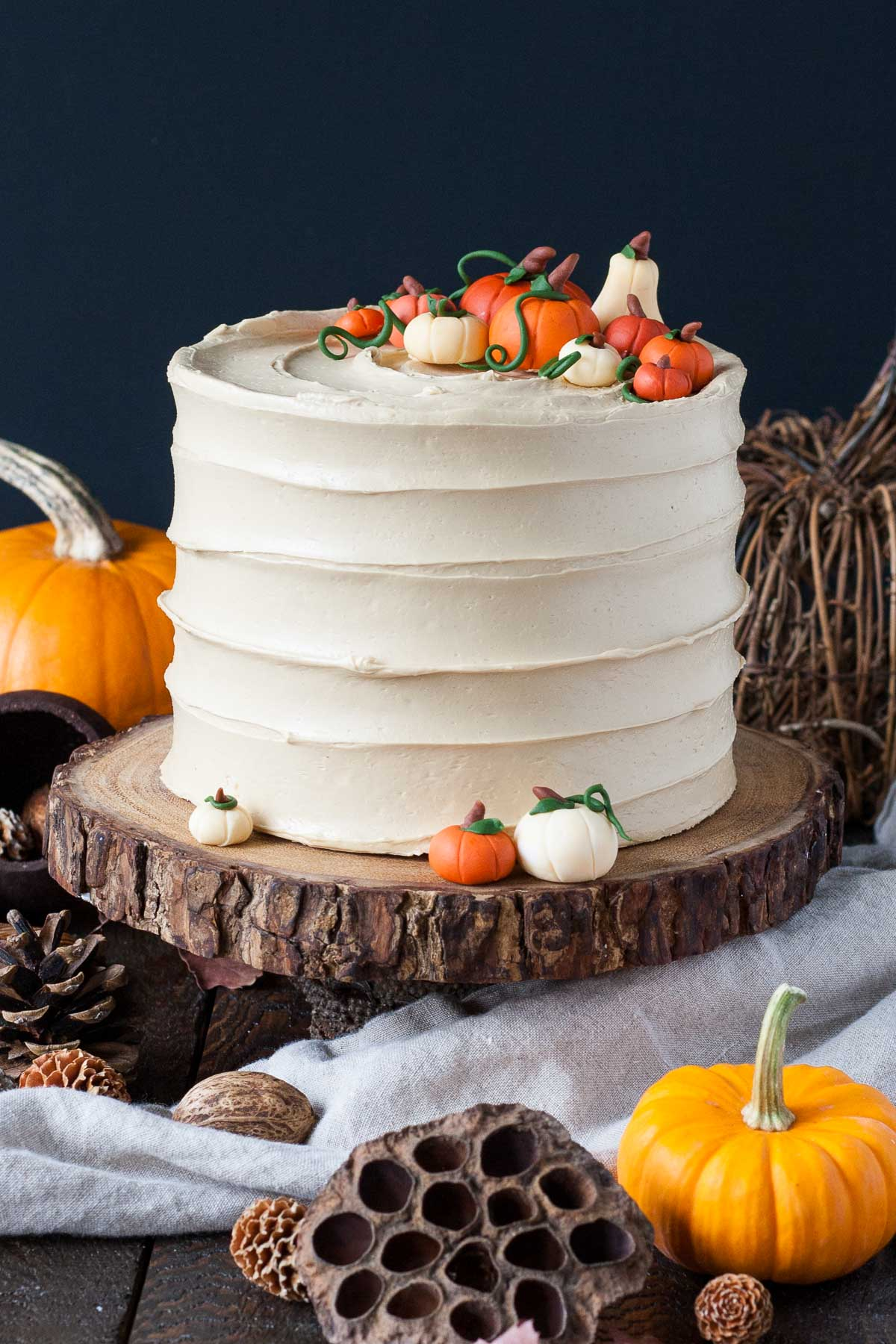 Pumpkin Spice Latte Cake from Liv For Cake