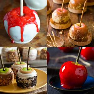 15 Wickedly Delicious Candy Apple Recipes - dishesanddustbunnies.com