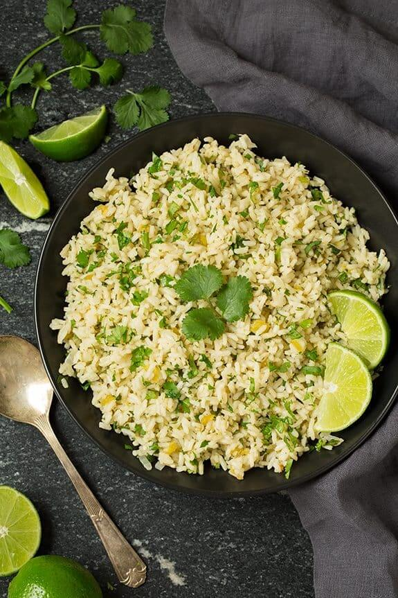 Cilantro Lime Rice from Cooking Classy