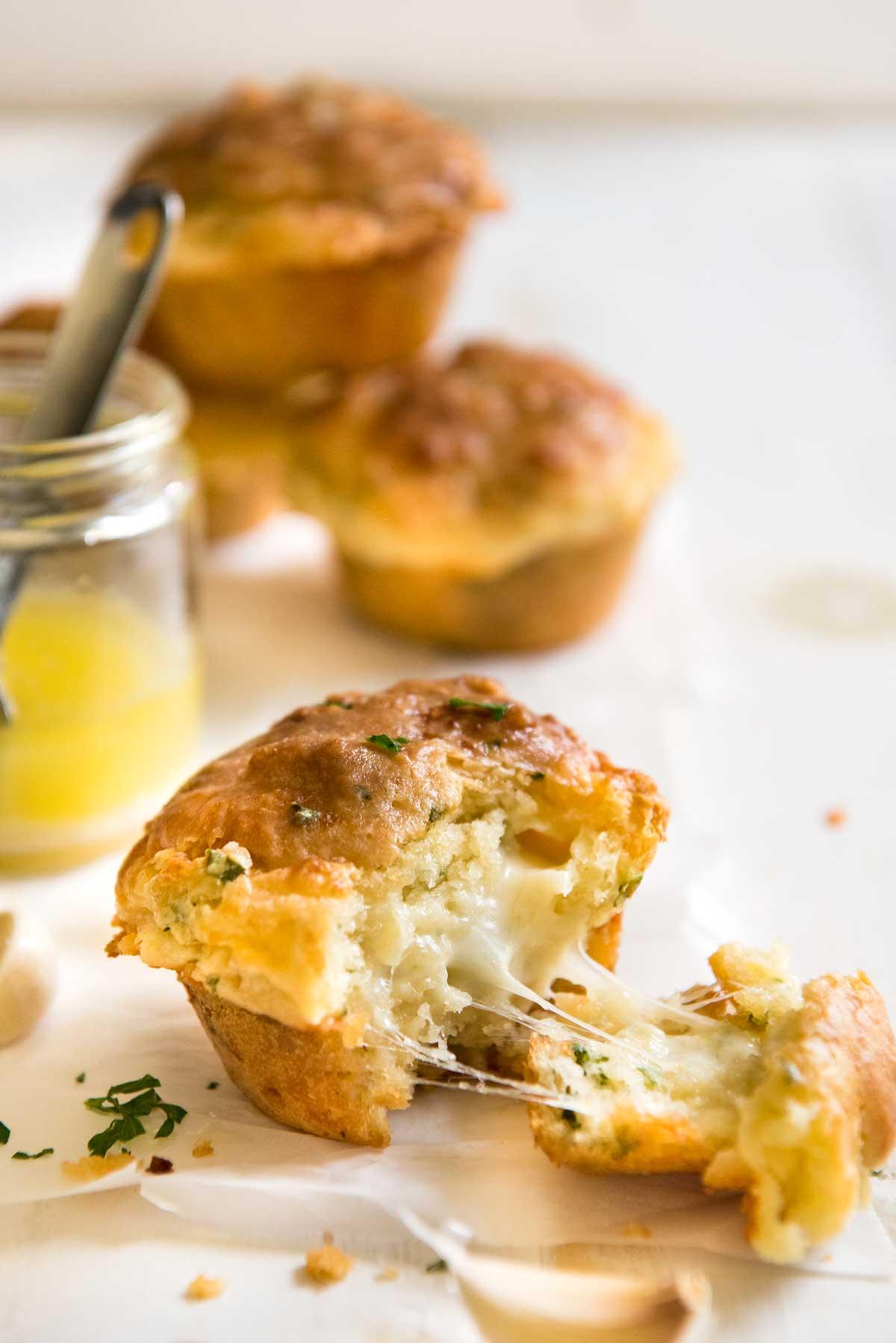Cheese & Garlic Muffins from Recipe Tin Eats