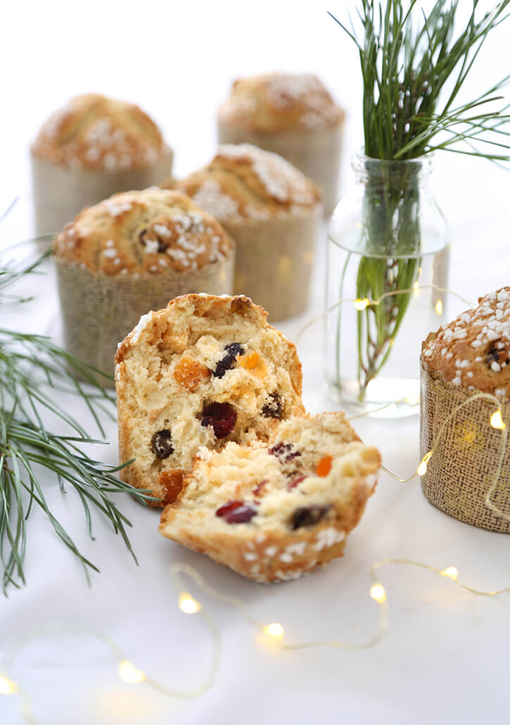 Panettone Muffins from Sprinkle Bakes