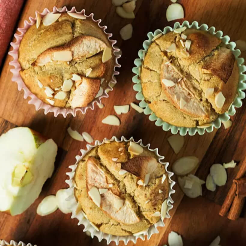 Apple Pie Muffins from Paleo Leap