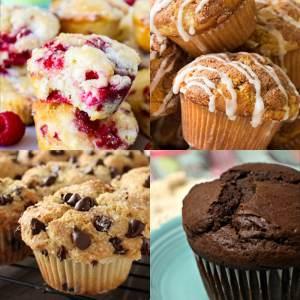 20 Scrumptious Muffin Recipes You've got to Try! - dishesanddustbunnies.com