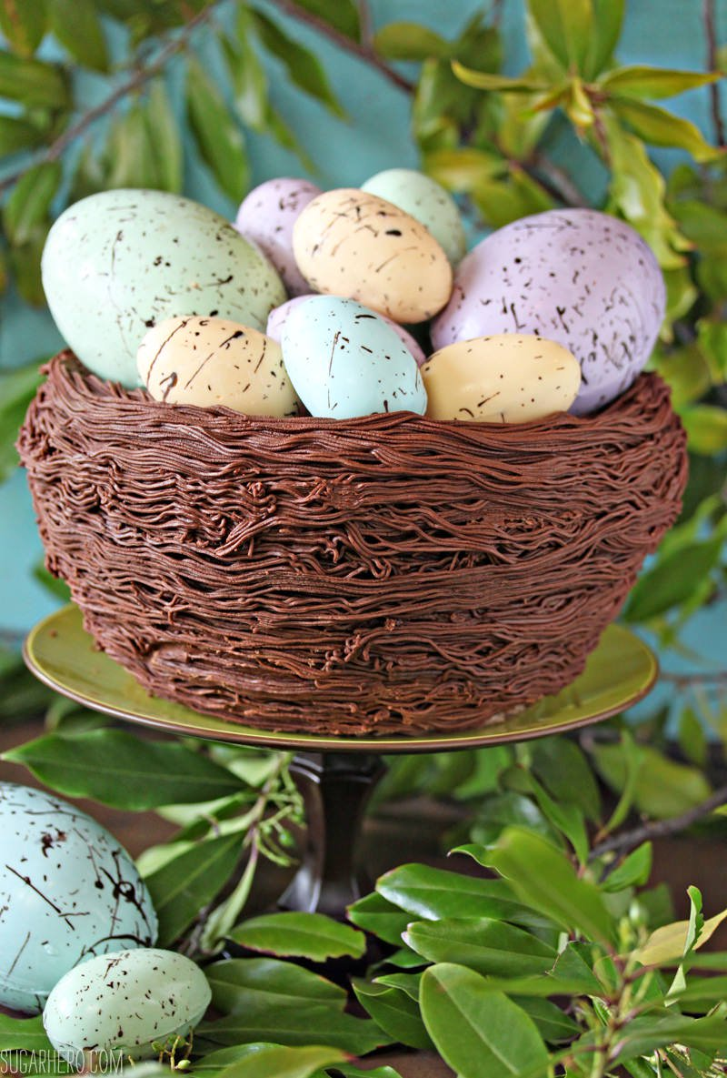 Easter Nest Cake from Sugar Hero!