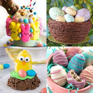 33 Sweet Treats and Easter Dessert Recipes - dishesanddustbunnies.com
