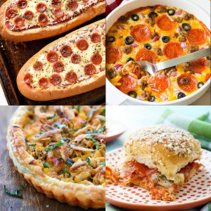 32 Recipes for Pizza Lovers - dishesanddustbunnies.com