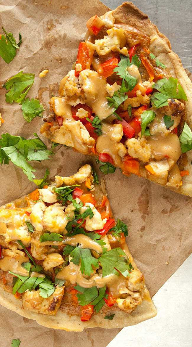 Thai Pizza from Create Mindfully
