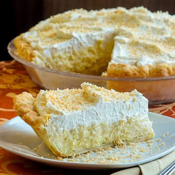 Coconut Cream Pie - The Old Fashioned Way from Rock Recipes