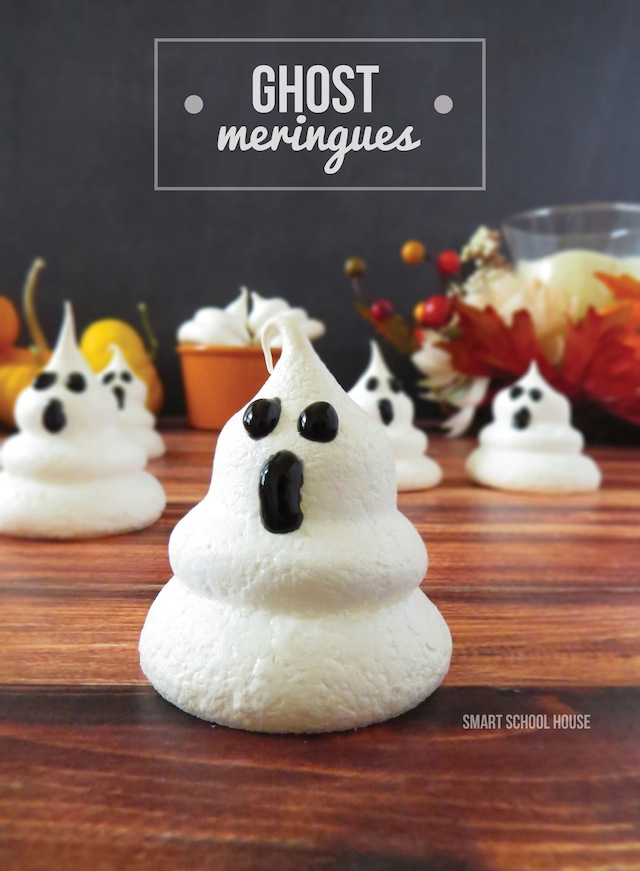 Ghost Meringues from Smart School House
