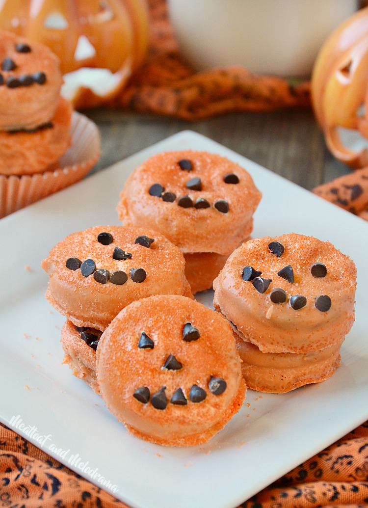 Halloween Oreo Pumpkin Treats from Meatloaf and Melodrama