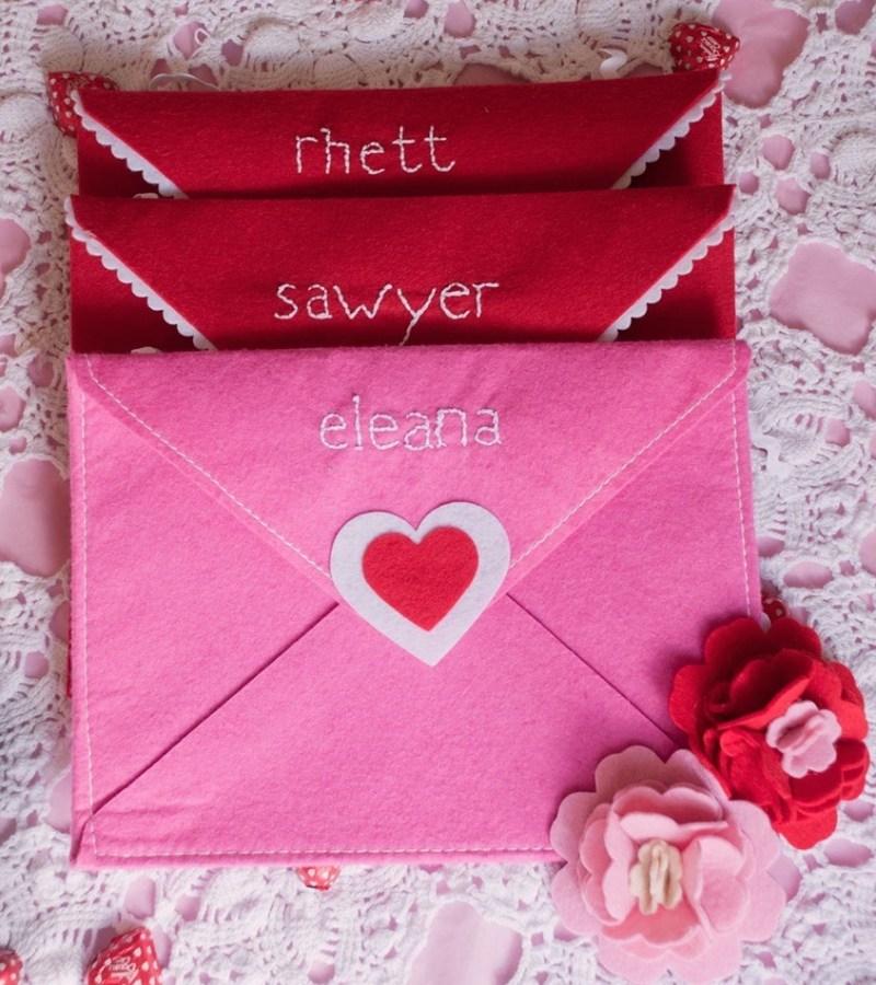 Personalized Target Dollar Spot Envelopes from Good Morning Loretta