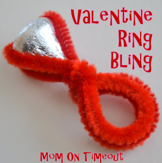 30cfea7469f Fingerprint Heart Frame from Mommy's Bundle Bring on the Bling Valentine  Ring from Mom on Timeout