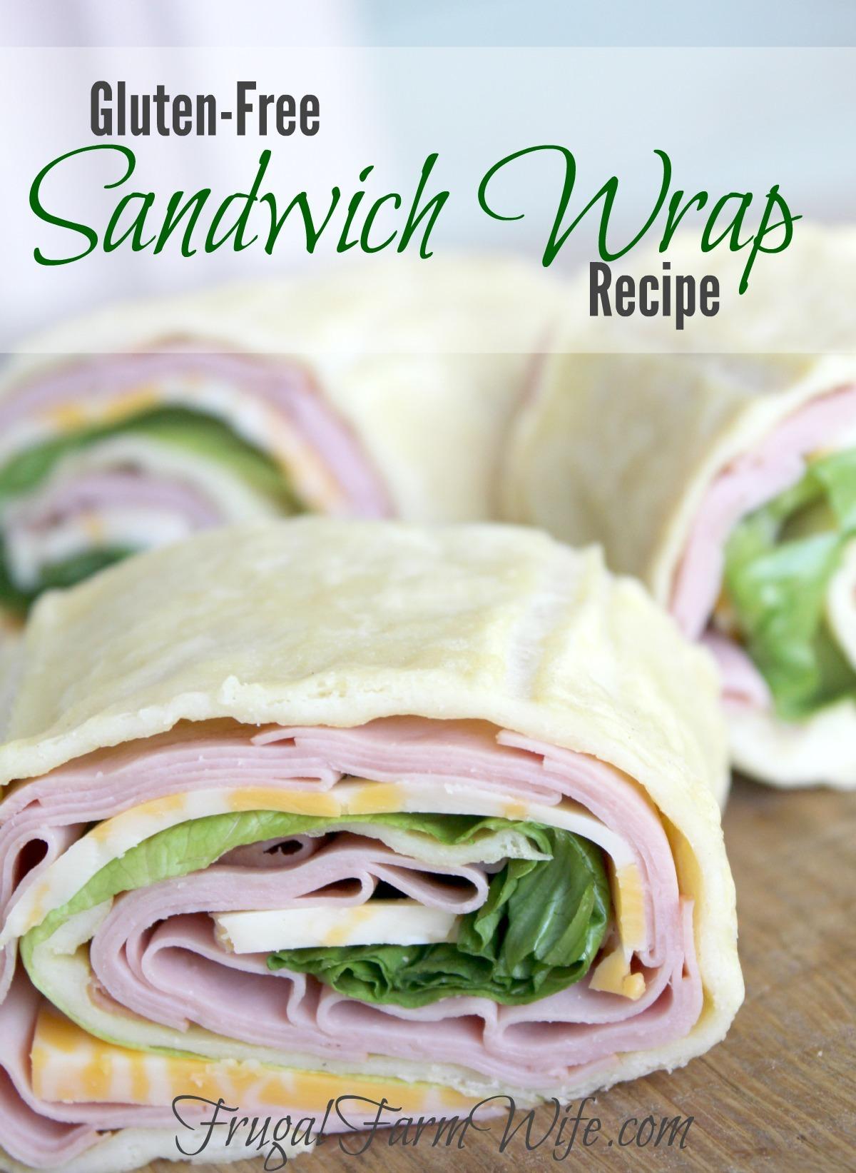 Gluten Free Sandwich Wrap Bread from The Frugal Farm Wife