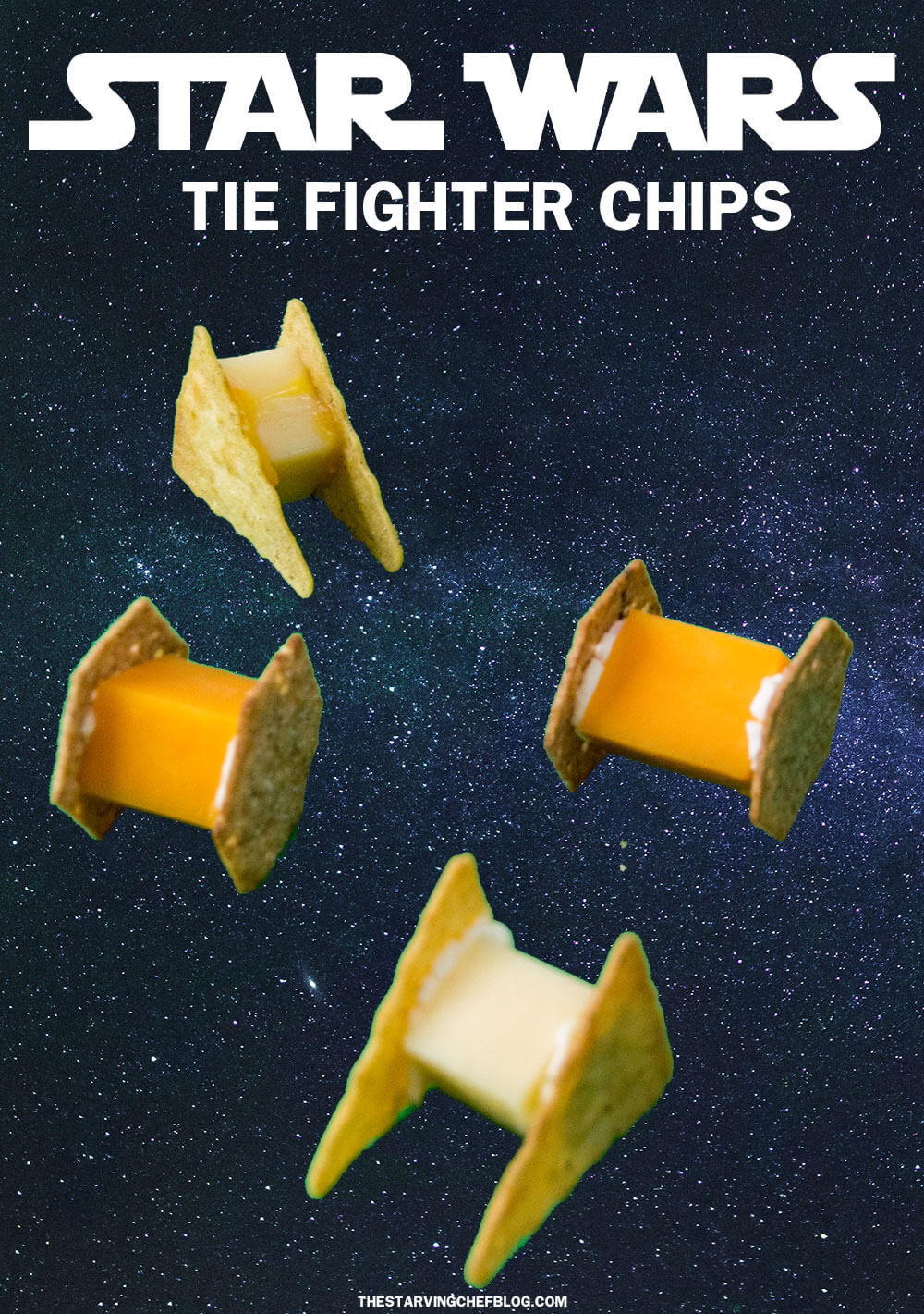 TIE Fighter Chips from The Starving Chef
